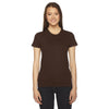 2102-american-apparel-womens-brown-t-shirt