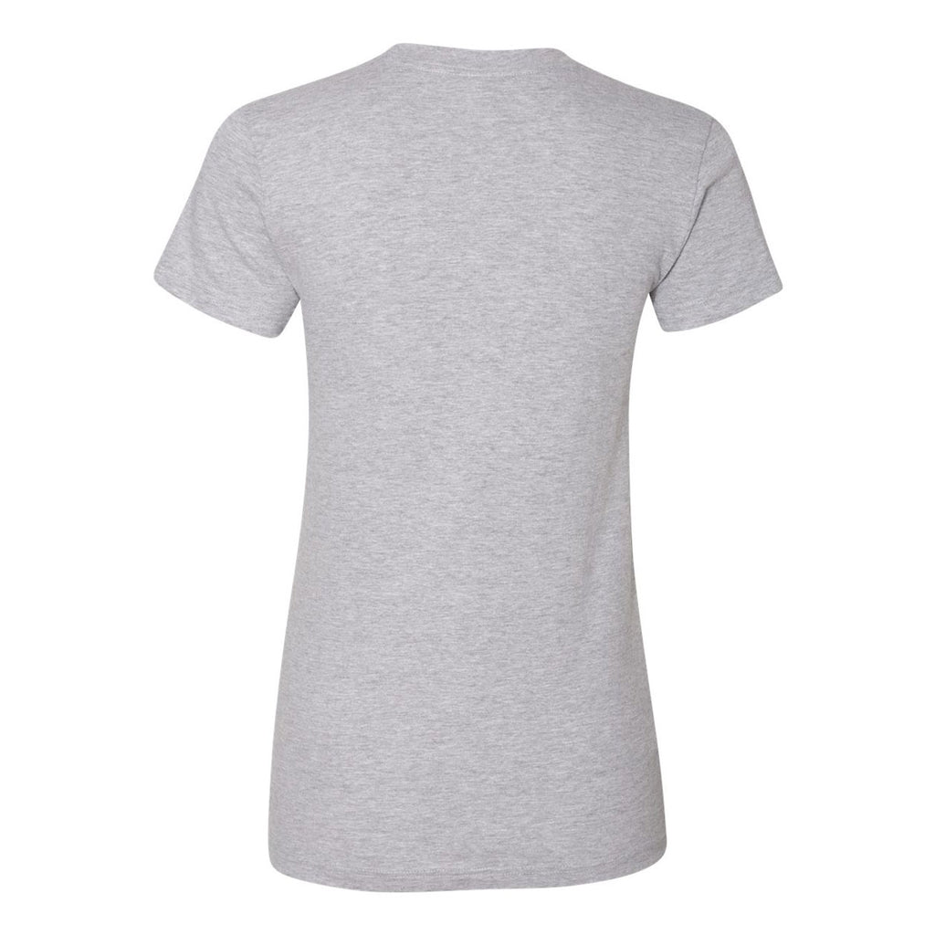 American Apparel Women's Heather Grey Fine Jersey Short Sleeve T-Shirt