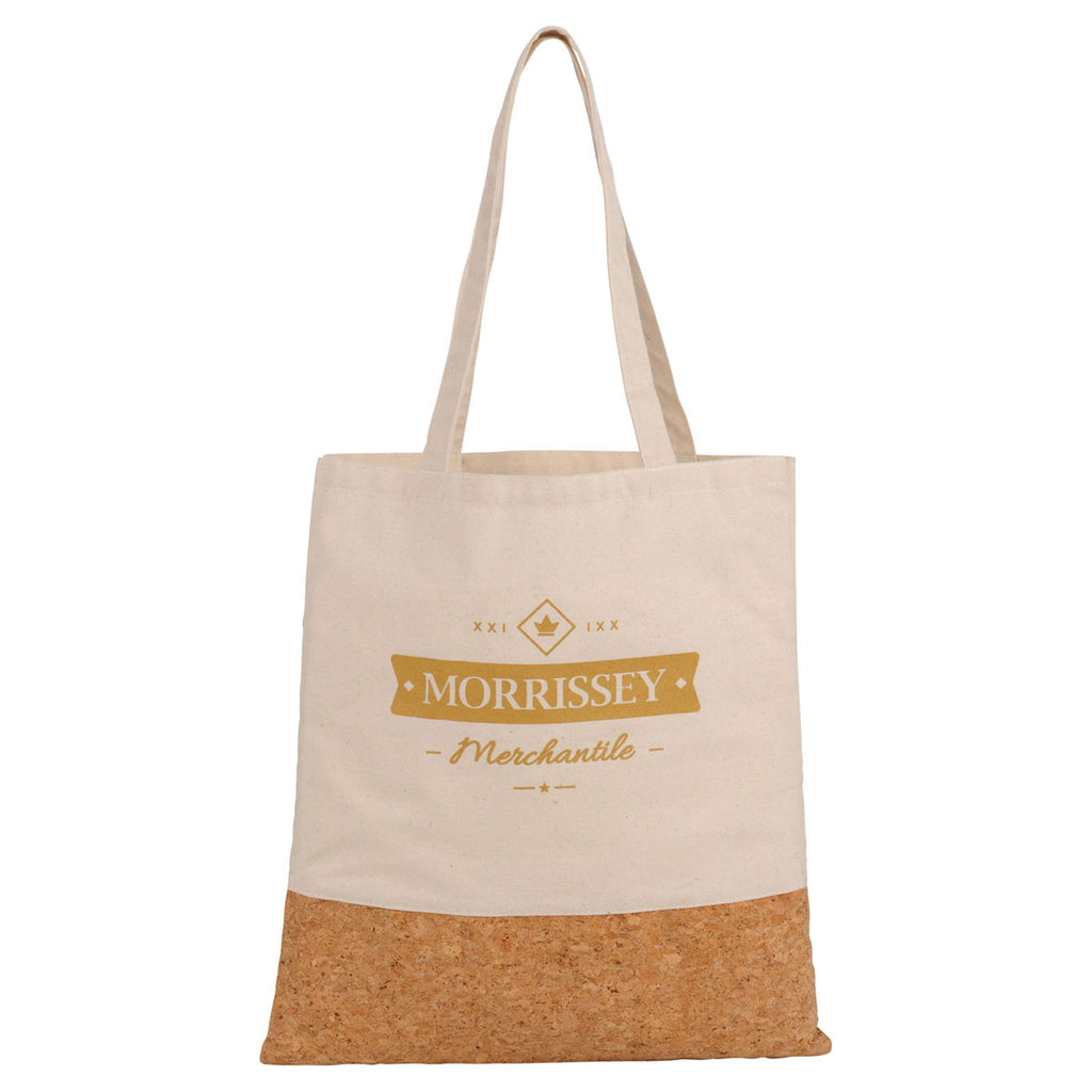 Leed's Natural Cotton and Cork Convention Tote