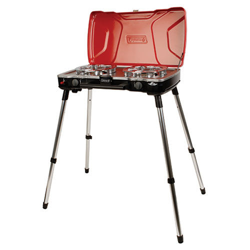 Coleman Red Fyremajor 3-In-1 Propane Stove & Grill