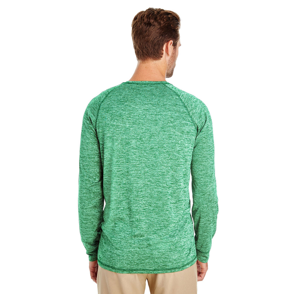 Holloway Men's Kelly Heather Electrify 2.0 Long-Sleeve