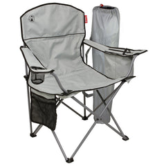 Coleman Cooler Grey Quad Chair