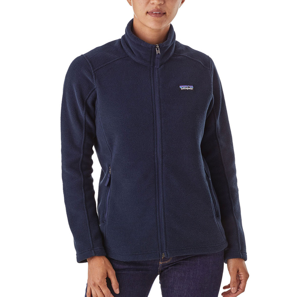 Patagonia Women's Navy Blue Classic Synchilla Jacket