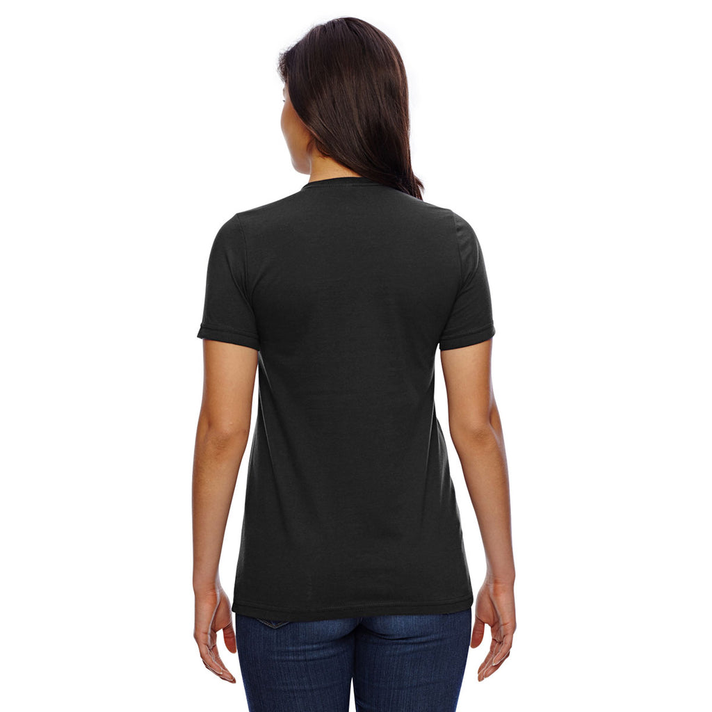 American Apparel Women's Black Classic T-Shirt