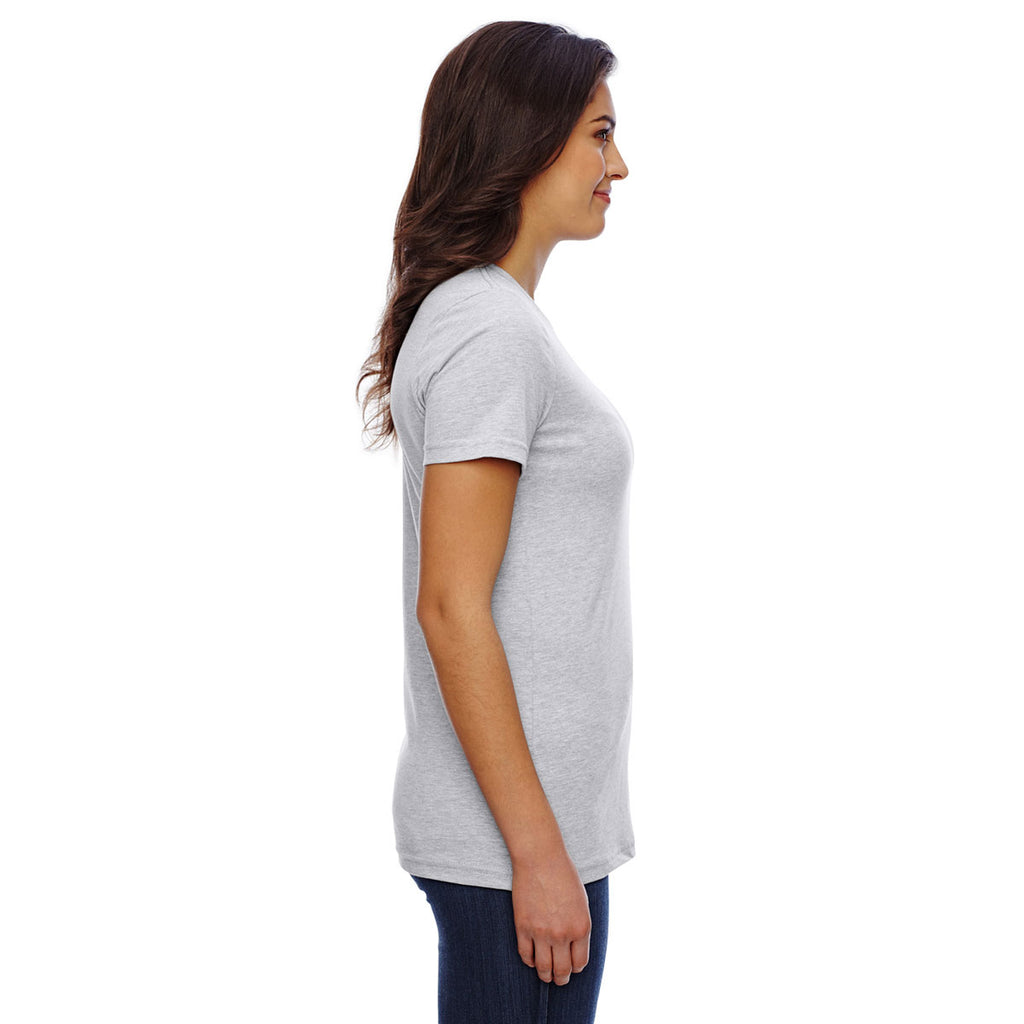 American Apparel Women's Heather Grey Classic T-Shirt