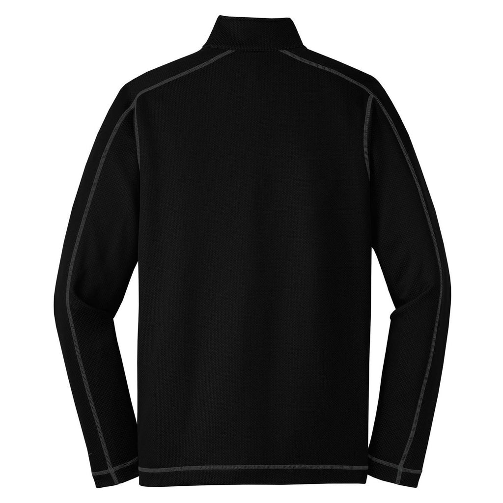 Nike Men's Black Sphere Dry Long Sleeve Quarter Zip