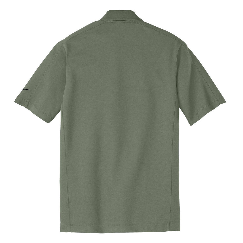 Nike Men's Clay Green Dri-FIT S/S Pique II Polo