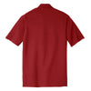 Nike Men's Red Dri-FIT Short Sleeve Pique II Polo