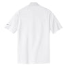 Nike Men's White Dri-FIT S/S Pique II Polo