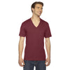 2456-american-apparel-burgundy-v-neck