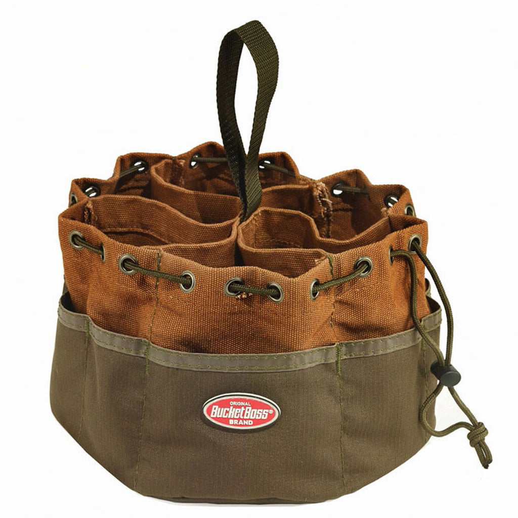 Bucket Boss Brown Parachute Bag