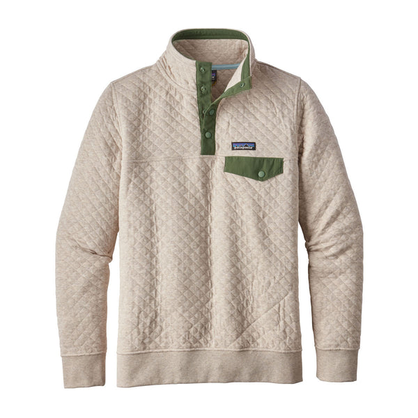Patagonia Women's Birch White Cotton Quilt Snap-T Pullover