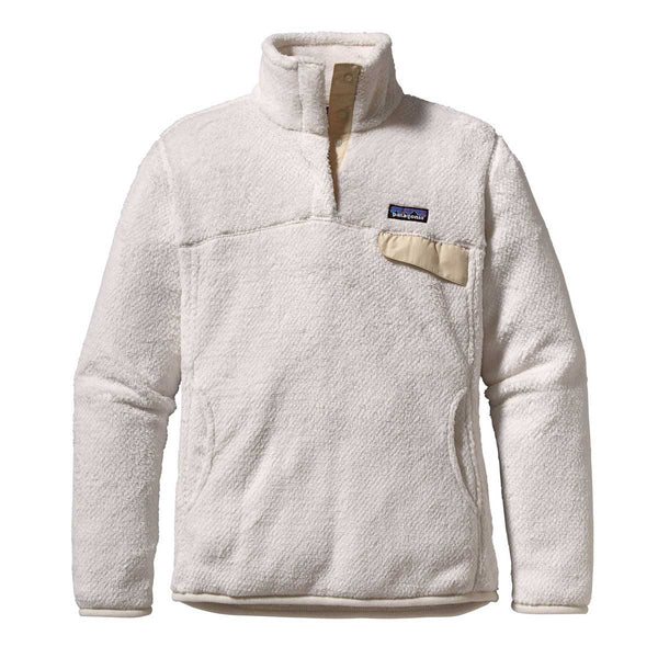Patagonia Women S Raw Linen Re Tool Snap T Fleece Pullover