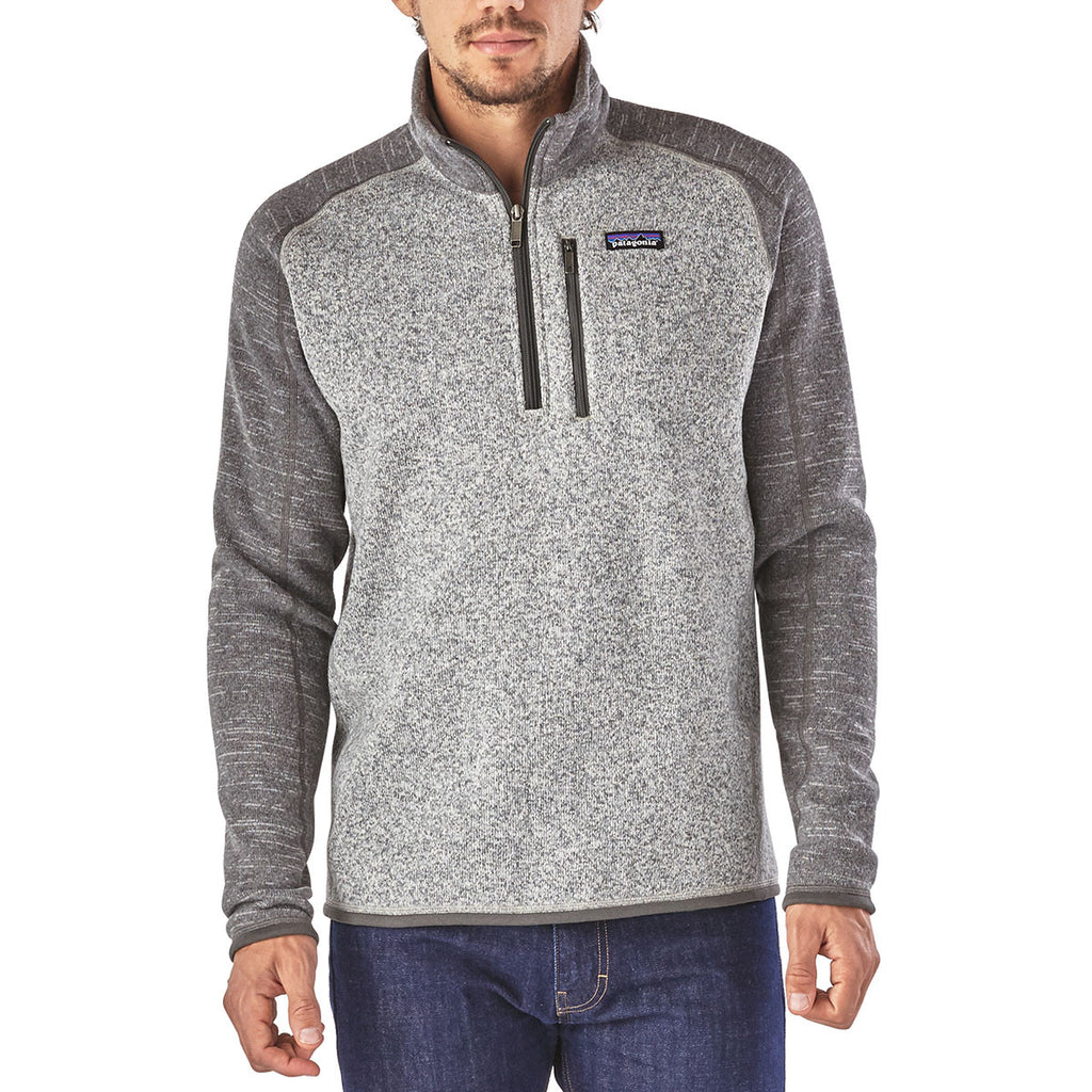 Patagonia Men's Nickel w/Forge Grey Better Sweater 1/4 Zip