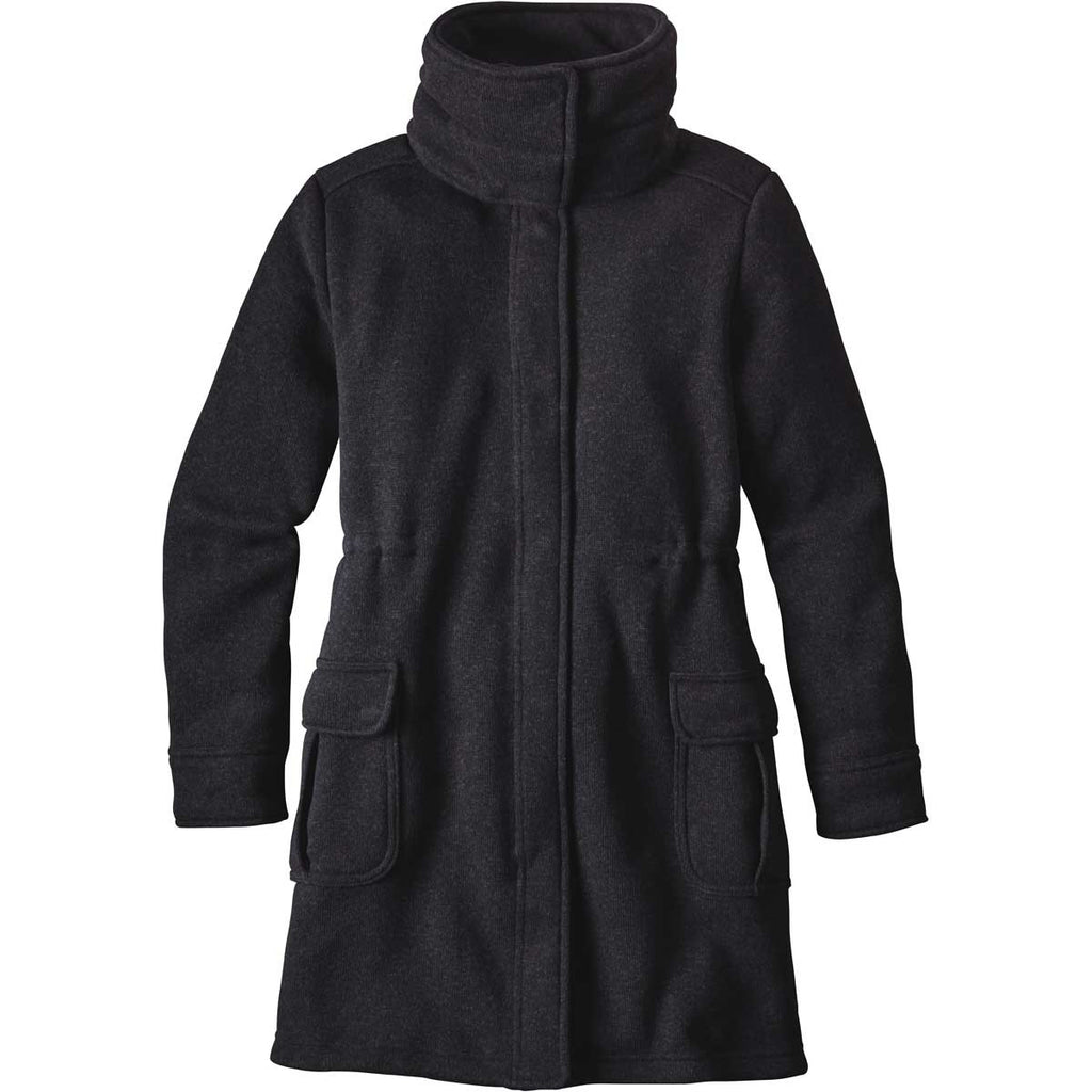 b1b8addd16e Patagonia Women's Black Better Sweater Coat