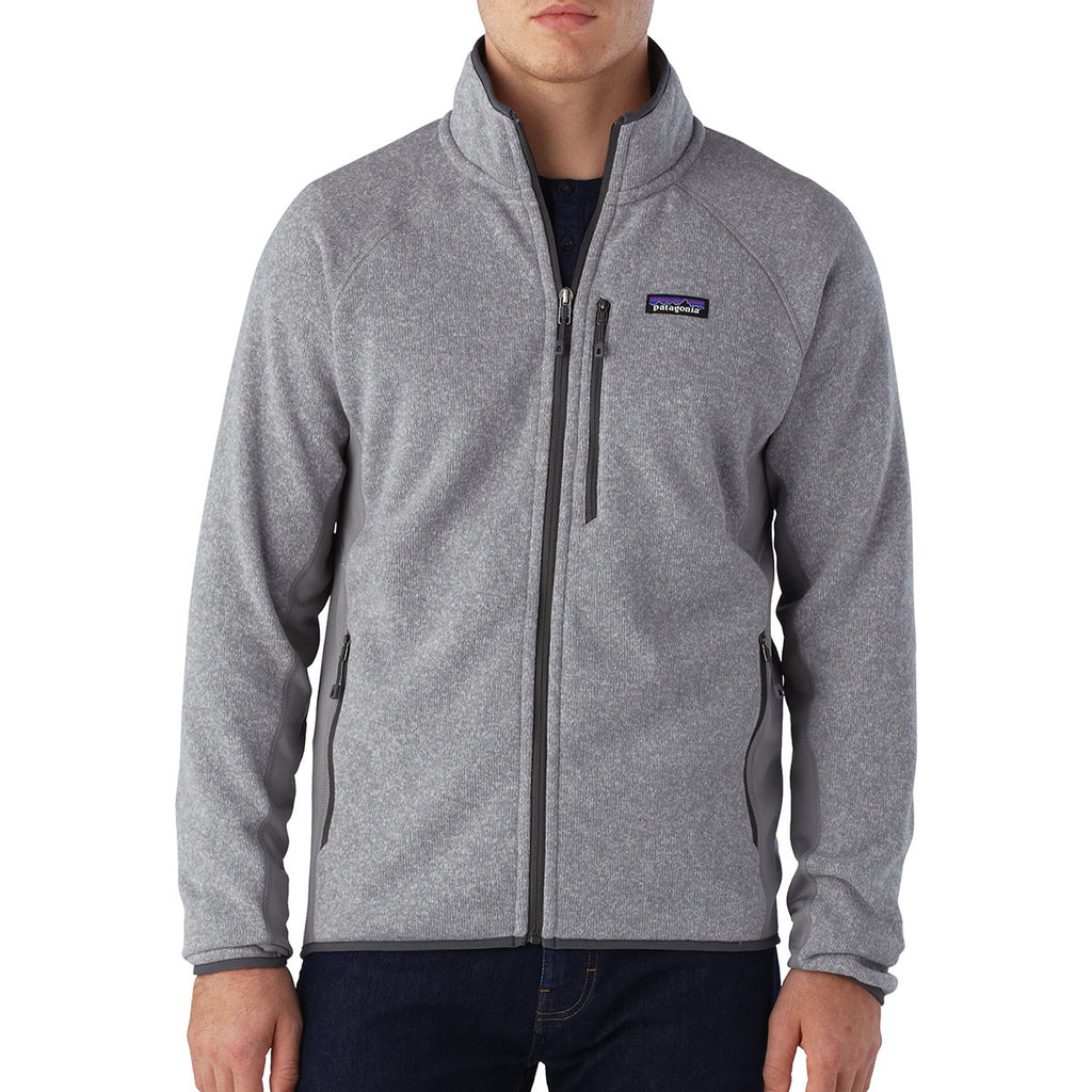 Patagonia Men's Feather Grey Performance Better Sweater Jacket