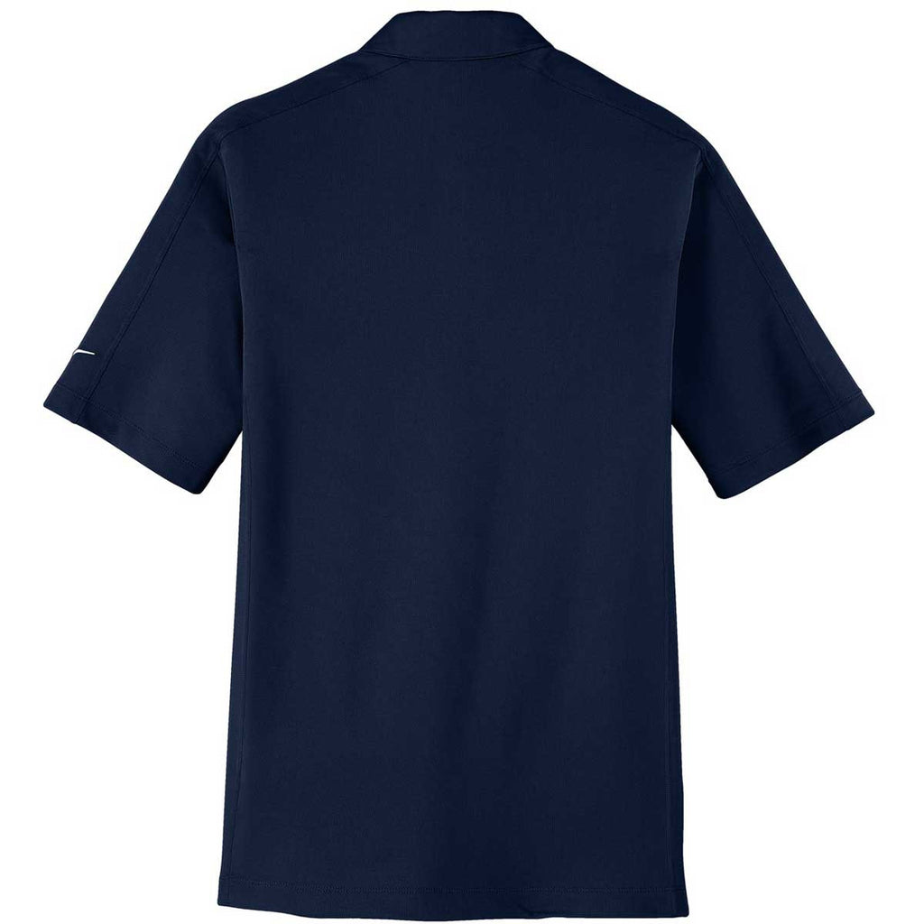 Nike Men's Navy Tech Sport Dri-FIT Short Sleeve Polo