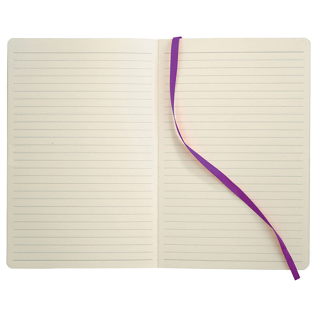 JournalBook Purple Pedova Soft Bound Notebook