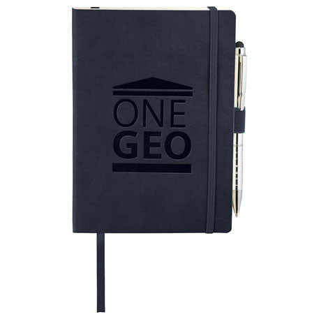 JournalBook Navy Revello Soft Bound Notebook