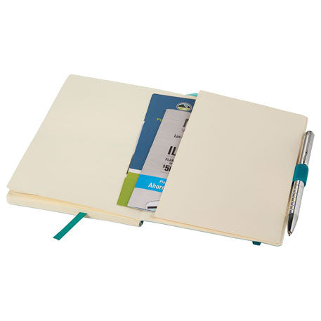JournalBook Turquoise Revello Soft Bound Notebook