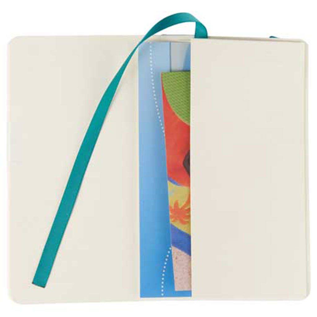 JournalBook Turquoise Revello Pocket Soft Bound Notebook
