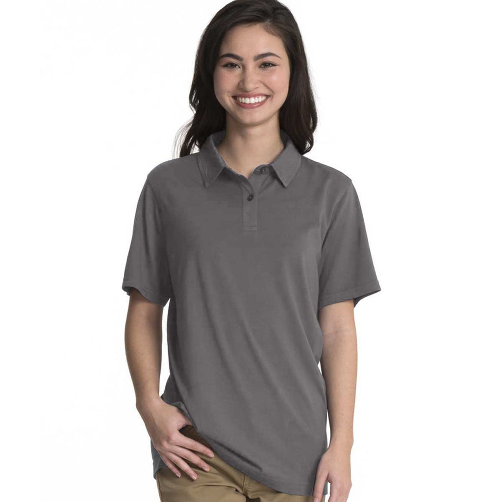Charles River Women's Grey Seaside Polo