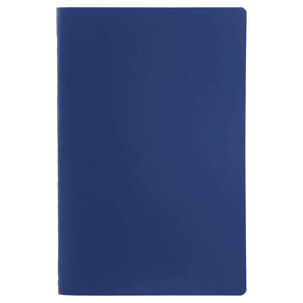 JournalBooks Navy Solid Saddlestitch Bound Notebook