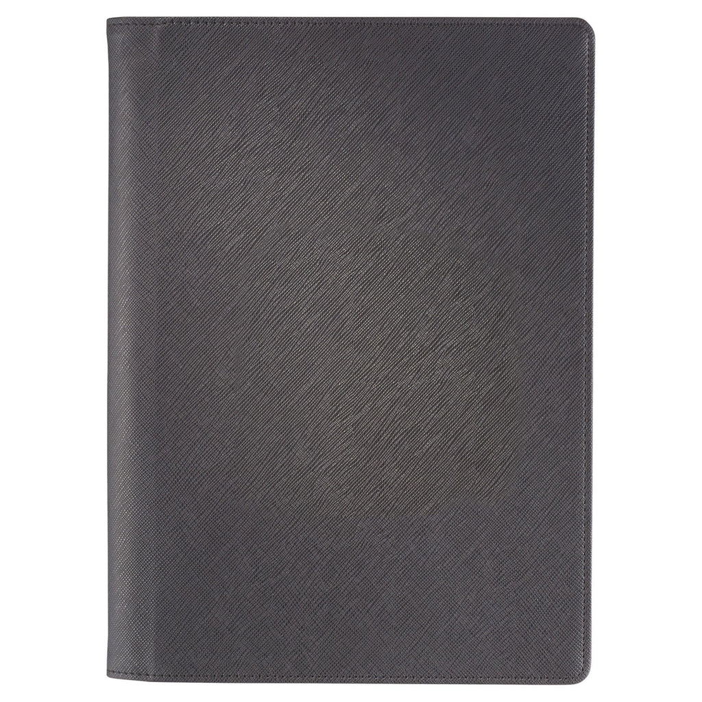 JournalBooks Black Modena Large Graph Refillable JournalBook