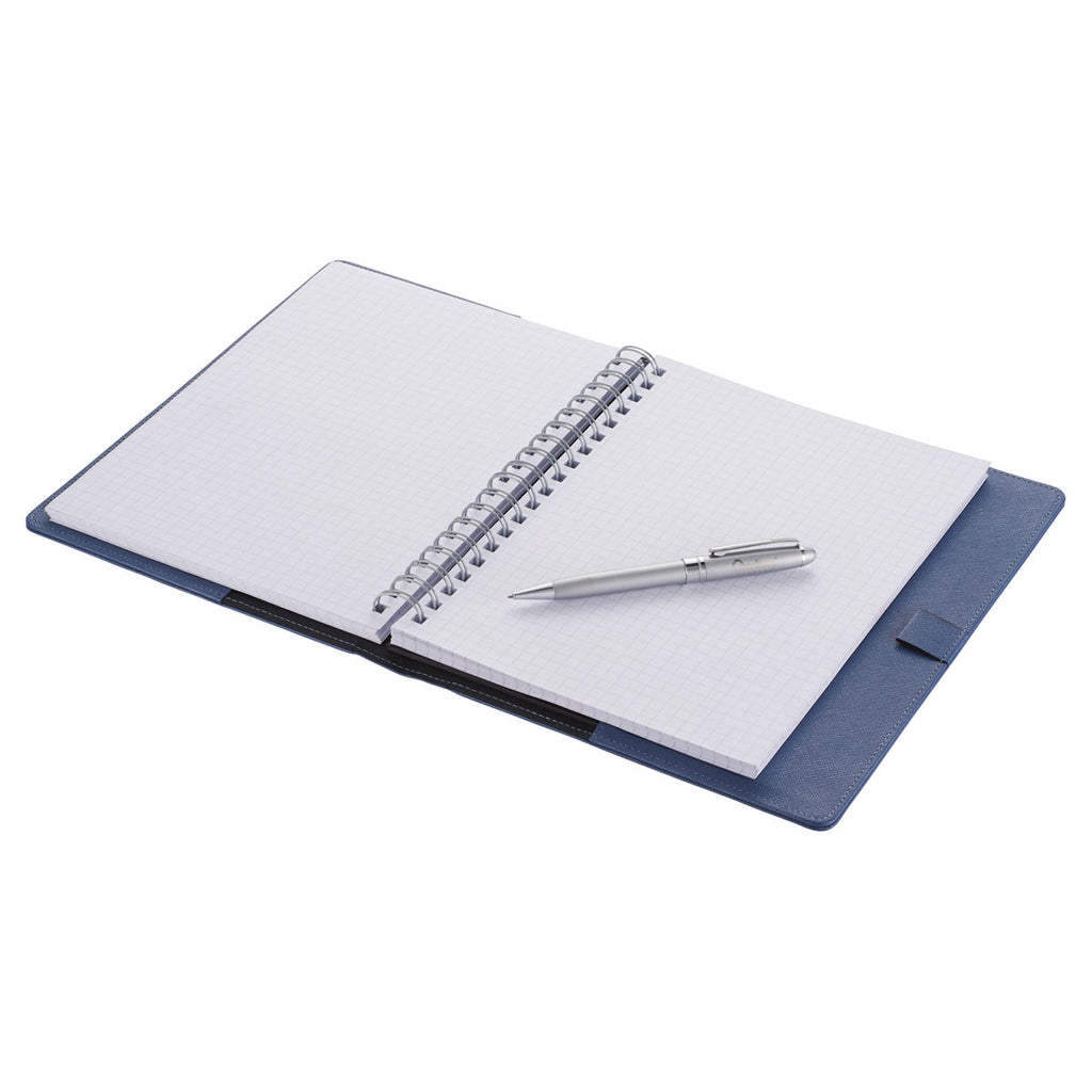 JournalBooks Blue Modena Large Graph Refillable JournalBook