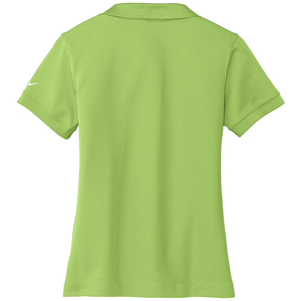 Nike Women's Light Green Dri-FIT S/S Classic Polo