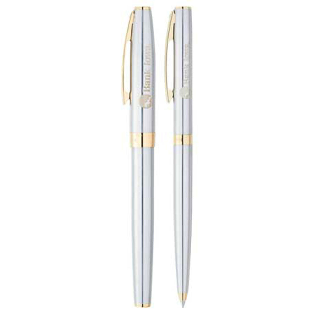 Sheaffer Silver Sagaris Pen Set