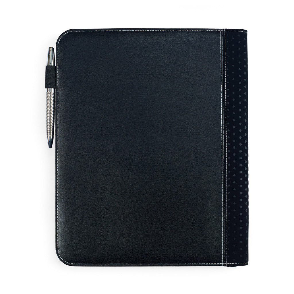 Gemline Black Cedar Leather Padfolio