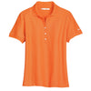 nike-womens-orange-pique-polo