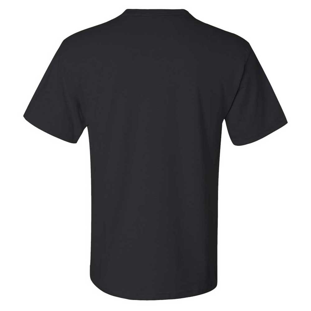 Jerzees Men's Black Dri-Power 50/50 T-Shirt with a Pocket