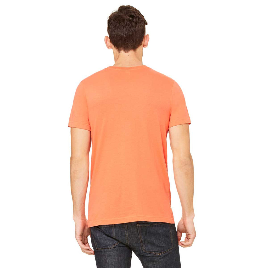 Bella + Canvas Unisex Coral Jersey Short-Sleeve T-Shirt