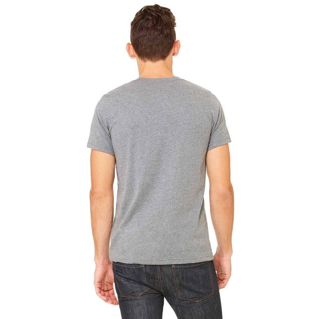 Bella + Canvas Unisex Deep Heather Jersey Short-Sleeve T-Shirt