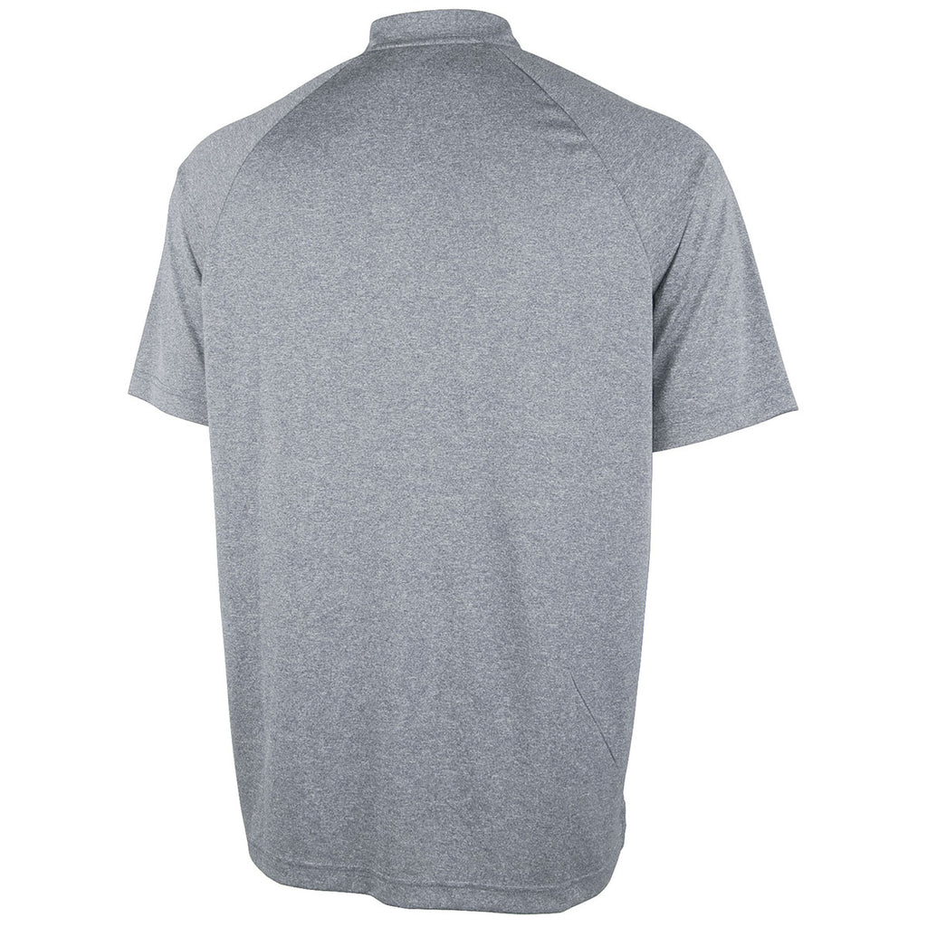 Charles River Men's Grey Plymouth Polo