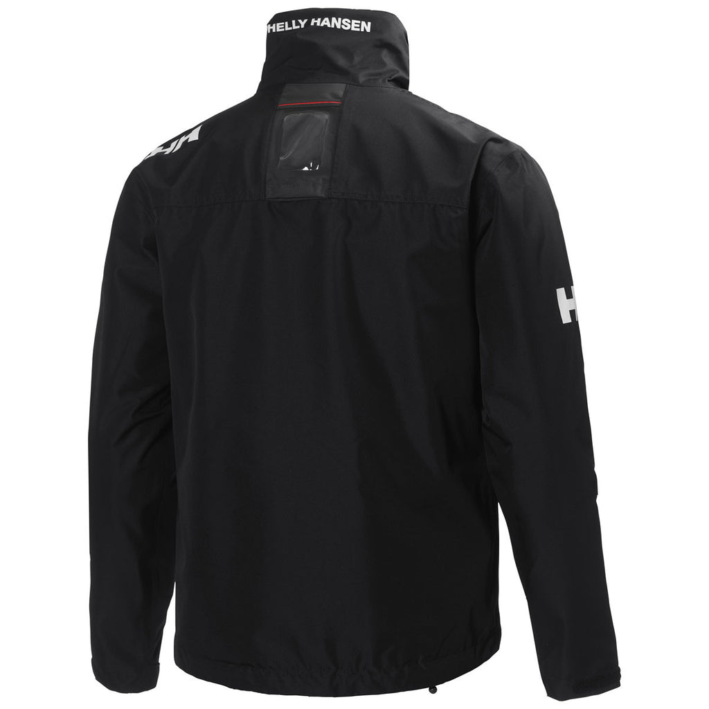 Helly Hansen Men's Black Crew Midlayer Jacket