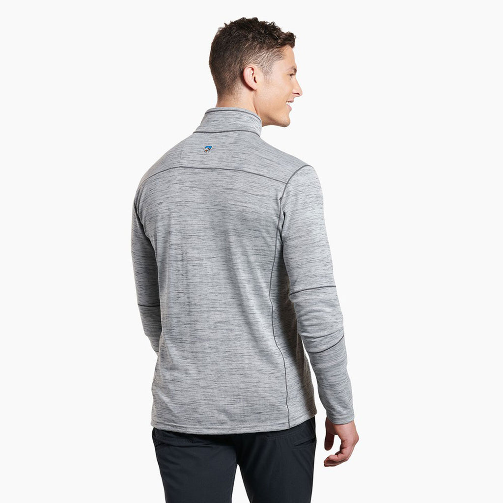 KUHL Men's Cloud Grey Alloy Quarter Zip