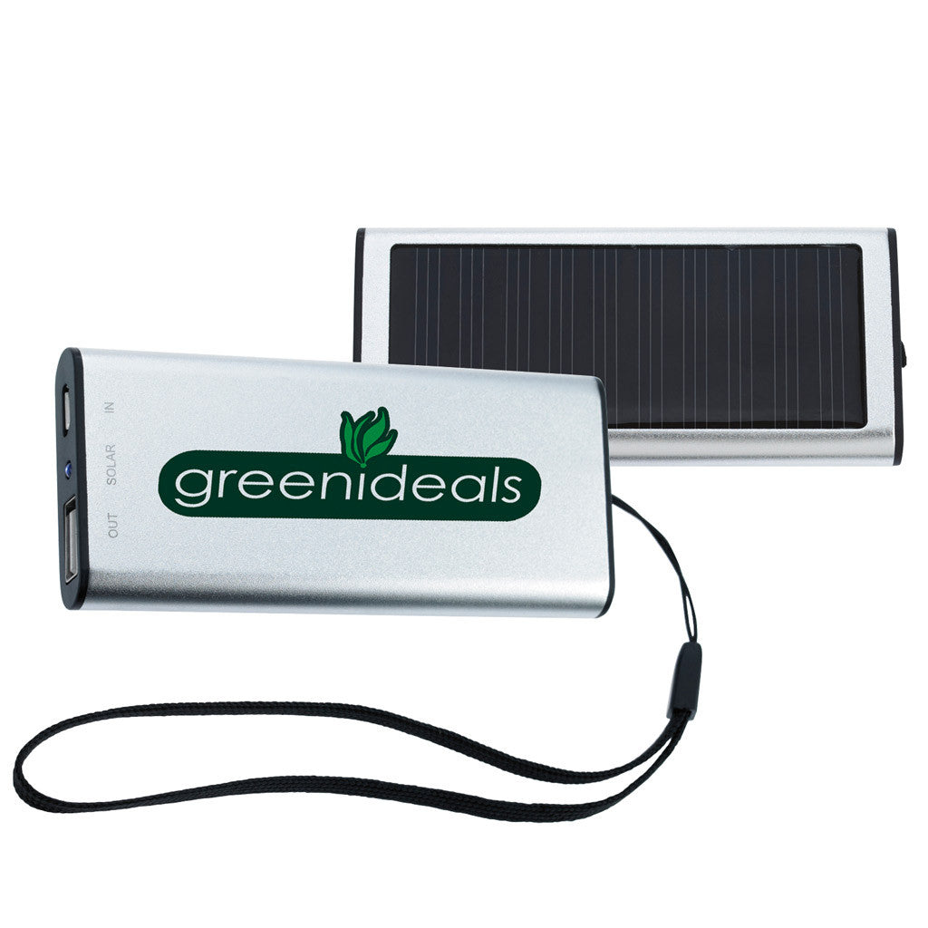 Norwood Silver Solar Charger