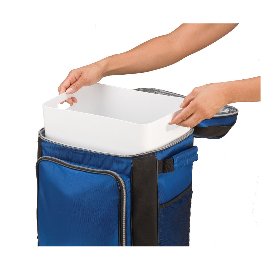 Coleman 9 Can Soft Side Blue Cooler with Removable Liner
