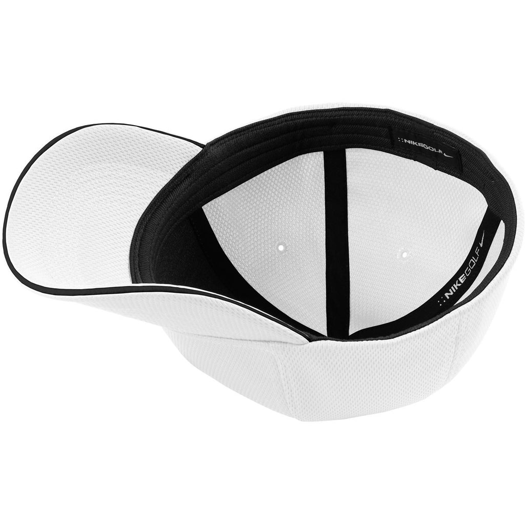 Nike White Dri-FIT Mesh Flex Cap