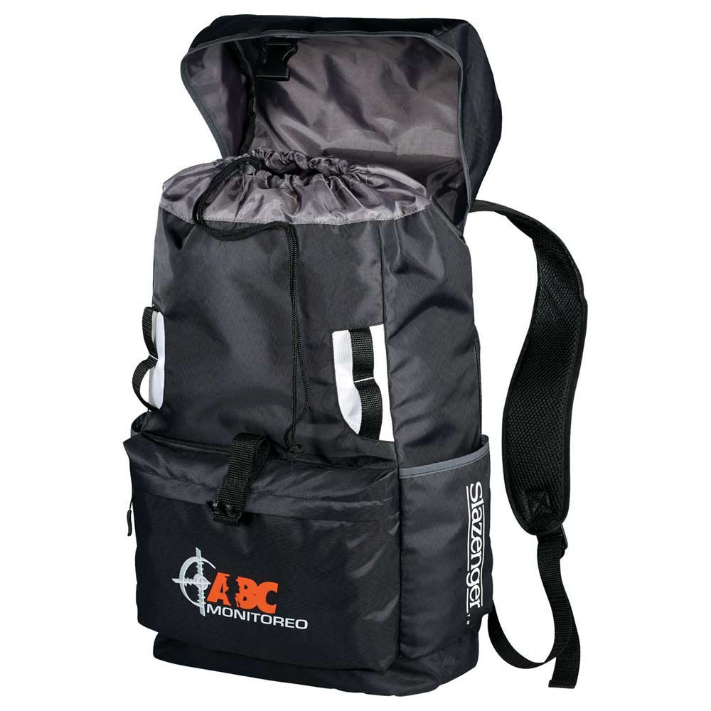 "Slazenger Black Reflect 15"" Computer Backpack"
