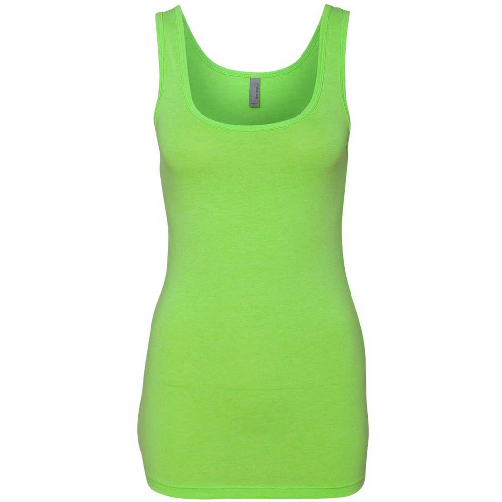 Buy Badger Racerback Tank - Lime - Training/Running, Fanwear - Hit A Double from HIT a Double at a great price and get 5% back on future orders.