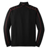 Nike Men's Black/Red Dri-FIT L/S Quarter Zip