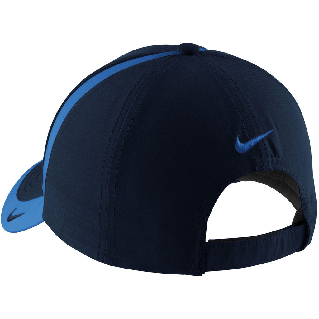 Nike Navy/Pacific Blue Dri-FIT Colorblock Cap