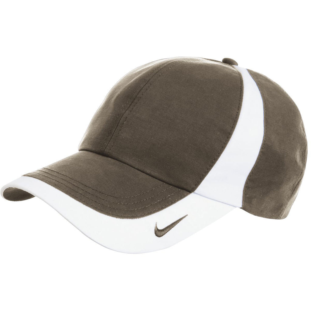 Nike Olive Khaki/White Dri-FIT Colorblock Cap