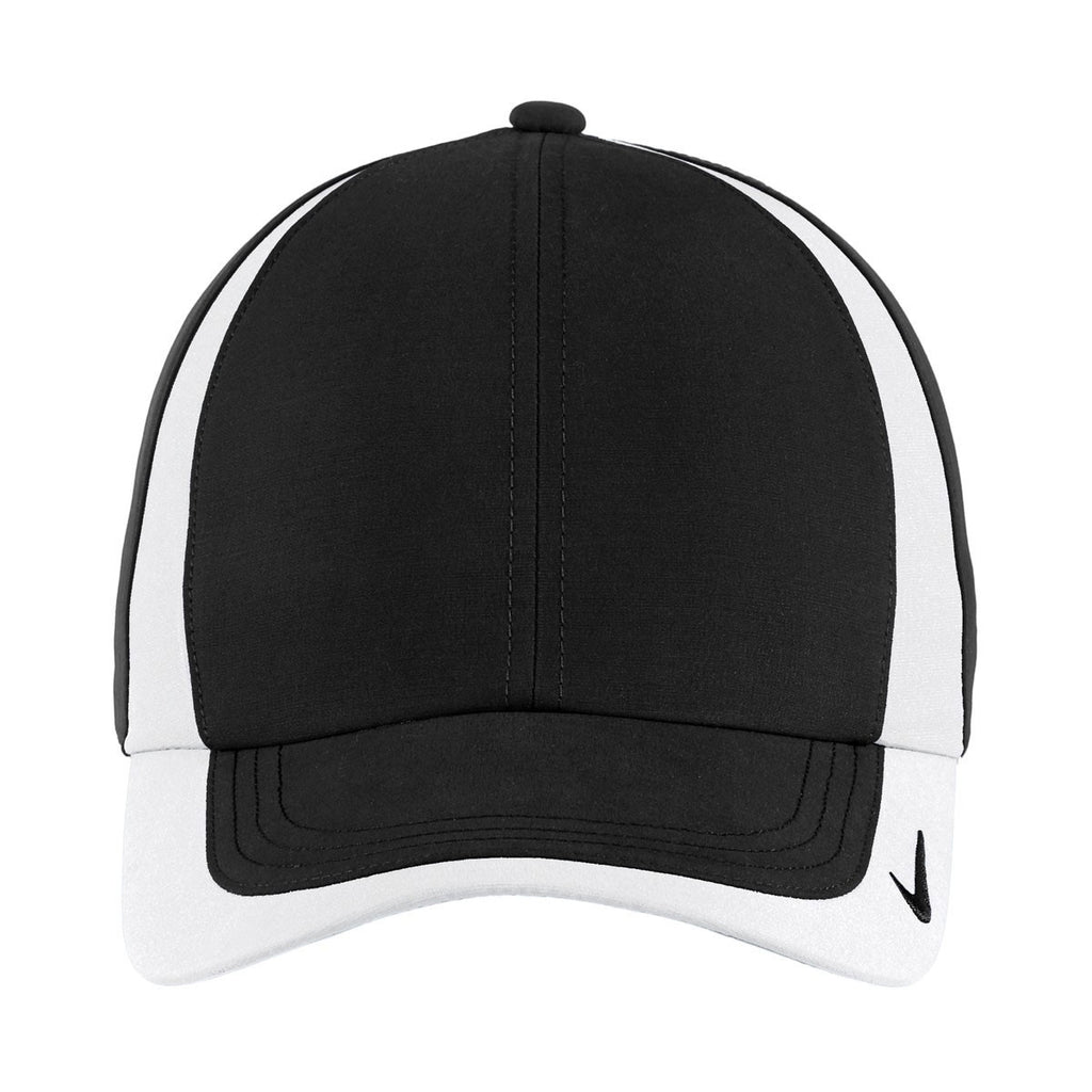 Nike Black/White Dri-FIT Colorblock Cap