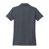 Nike Women's Dark Grey Dri-FIT S/S Pebble Texture Polo
