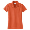 nike-womens-orange-micro-polo